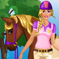 Barbie Goes Horseriding